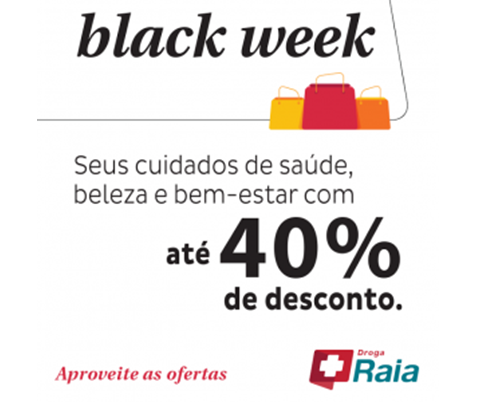 black friday droga raia