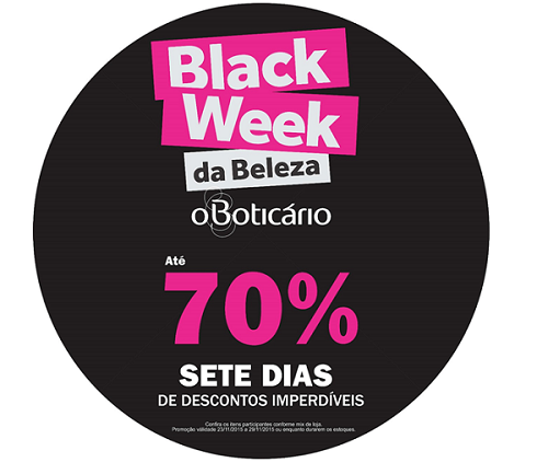 black week boticario