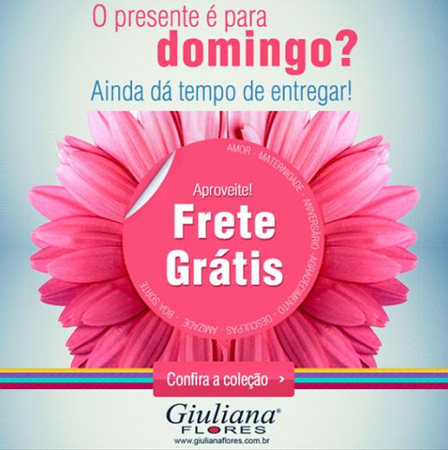 frete gratis giuliana flores