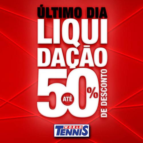 liquidacao world tennis