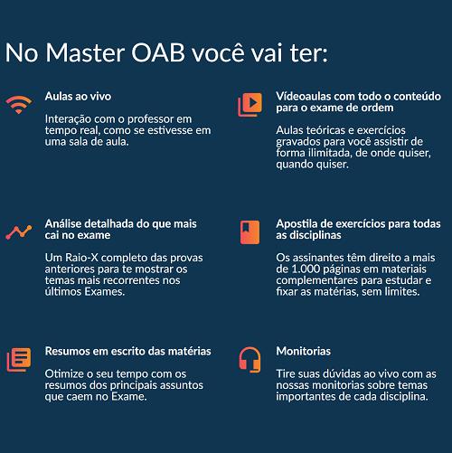 vantagens de se assinar master oab